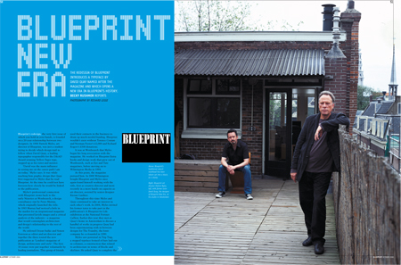 Blueprint blueprint new era david quay design blueprints redesign the very first issue of which you hold in your hands is founded on a 20 year relationship between two designers malvernweather Image collections